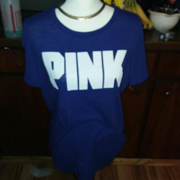 PINK Victoria's Secret Tops - Vs pink tee